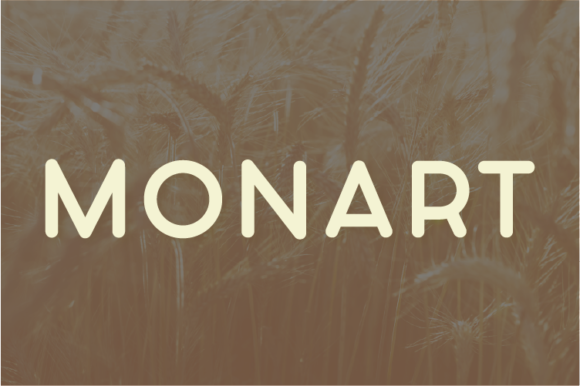 Print on Demand: Monart Sans Serif Font By A Christie