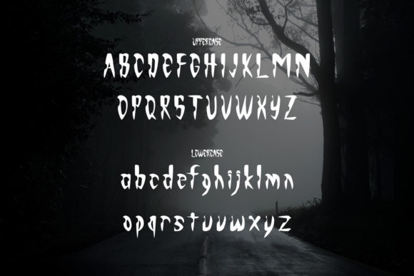 Monsterious Font Item