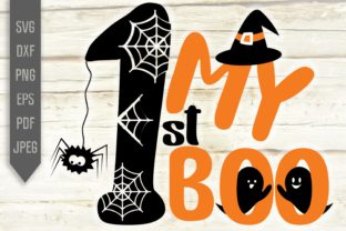 My 1st Boo Svg. First Halloween Baby Svg Graphic Crafts By Mint And Beer Creations