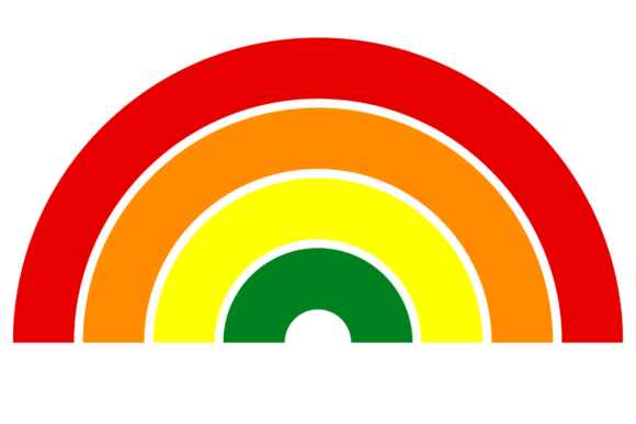 Print on Demand: Retro Rainbow LGBT Pride Background Graphic Backgrounds By atlasart