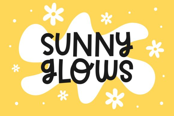Print on Demand: Sunny Glows Script & Handwritten Font By Keithzo (7NTypes)