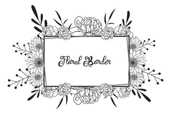 Print on Demand: Card, Lower, Wedding, Floral, Design, El Graphic Objects By anomali.bisu