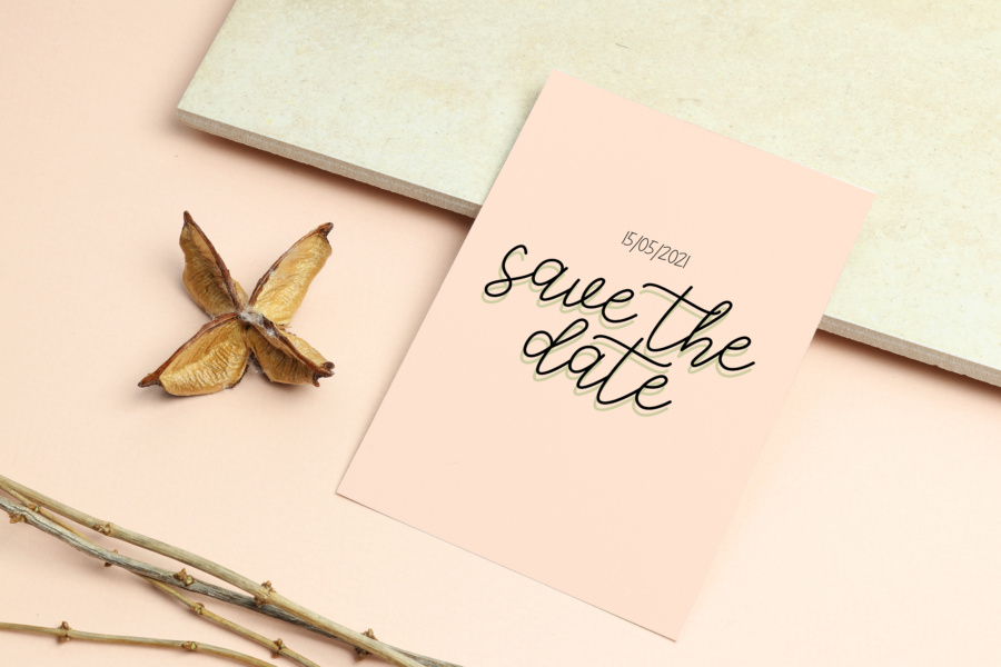 Free fonts for your Save the Date cards