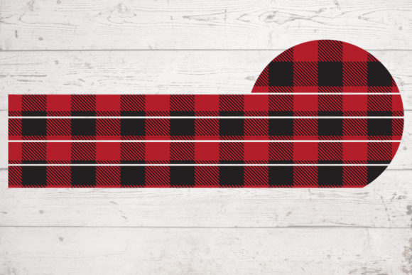 Print on Demand: Buffalo Plaid Pattern Sublimation Craft Graphic Backgrounds By atlasart