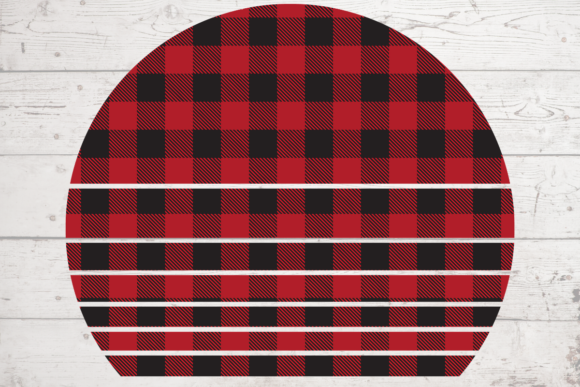 Print on Demand: Buffalo Plaid Pattern Sublimation Craft Graphic Crafts By atlasart