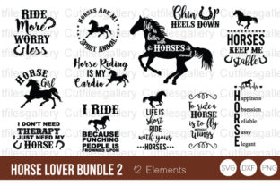 Horses Lover Bundle SVG, Horse SVG Graphic Crafts By cutfilesgallery