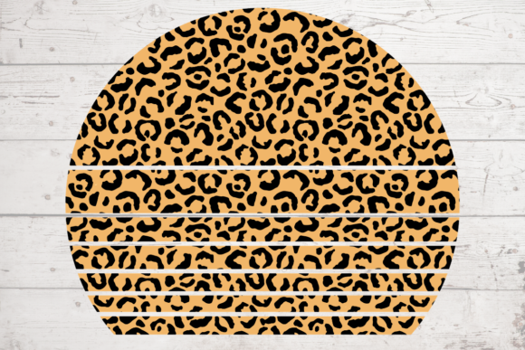 Print on Demand: Leopard Leather Sublimation Craft Graphic Backgrounds By atlasart