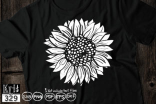 Silhouette Sunflower Graphic Crafts By Krit-Studio329