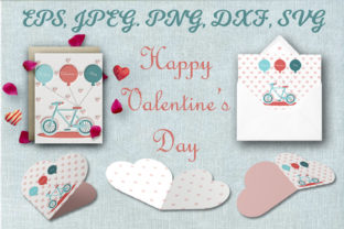 Print on Demand: Valentines Day Set. Greeting Card. Beaut Graphic Illustrations By OK-Design
