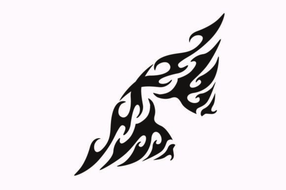 Print on Demand: Tribal Flames Graphic Illustrations By nisakaart
