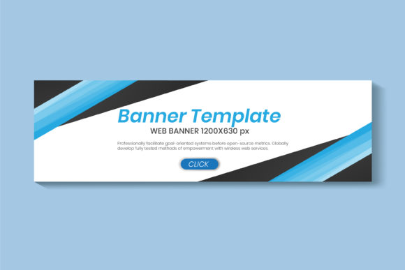 Web Banners Design Ad Banner Graphic Print Templates By Ju Design
