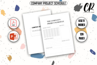 Company Project Schedule - KDP Interior Graphic KDP Interiors By Creative Ram 1