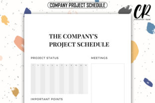 Company Project Schedule - KDP Interior Graphic KDP Interiors By Creative Ram 2