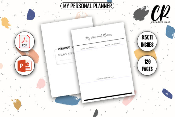 Free My Personal Planner - KDP Interior Graphic KDP Interiors By Creative Ram