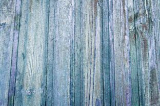 Old Wooden Blue Rustic Background. Graphic Nature By OK-Design