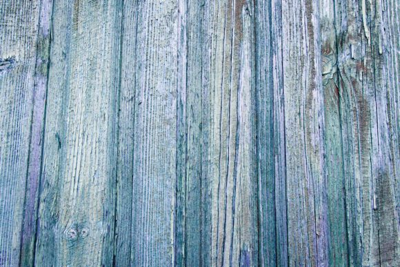 Print on Demand: Old Wooden Blue Rustic Background. Graphic Nature By OK-Design
