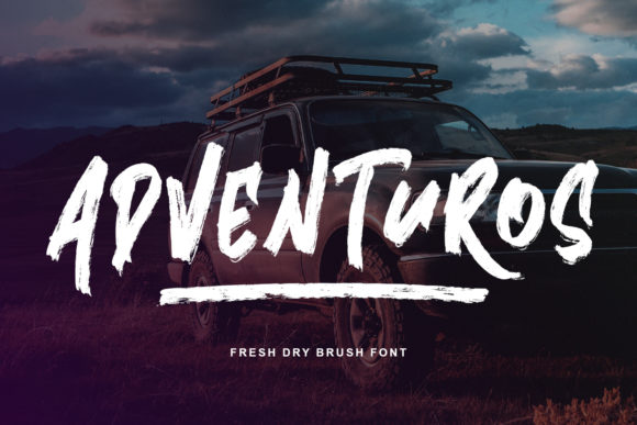 Print on Demand: Adventuros Script & Handwritten Font By Abodaniel