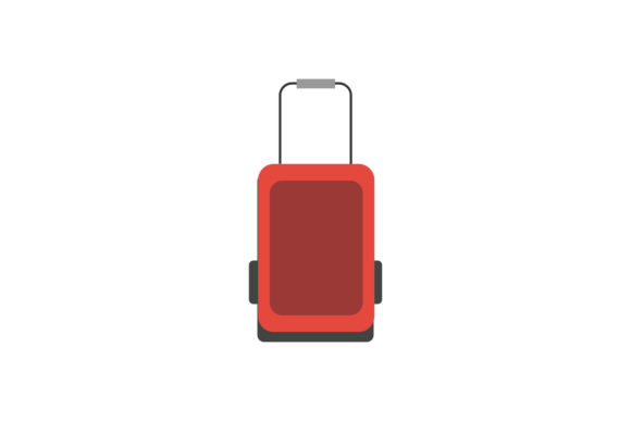 Airplane Suitcase Illustrations Vectors Graphic Illustrations By PiGeometric