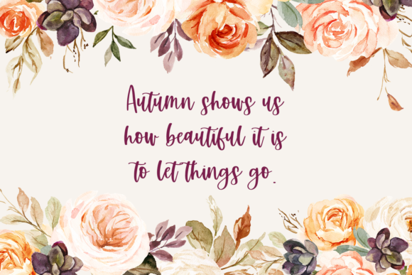 Autumn Love Duo Font Download
