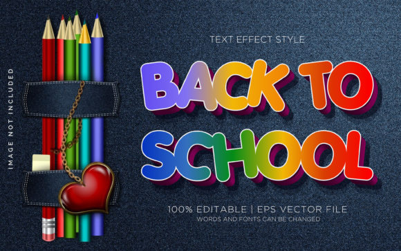 Back to School 01 Text Effects  Graphic Layer Styles By Neyansterdam17