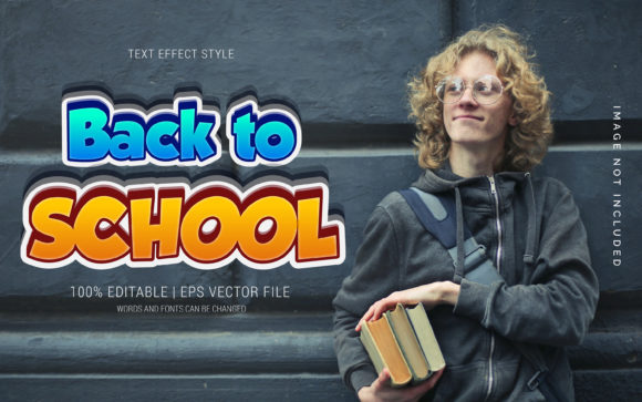 Back to School 04 Text Effects Graphic Layer Styles By Neyansterdam17