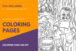 Print on Demand: Baby Zombie Halloween Coloring Page Graphic Coloring Pages & Books Adults By stanosh