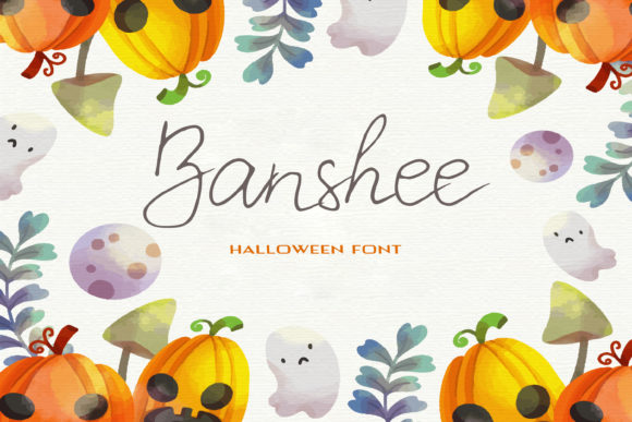 Print on Demand: Banshee Script & Handwritten Font By dmytroyarish
