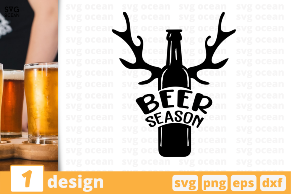 Beer Season Graphic Crafts By SvgOcean