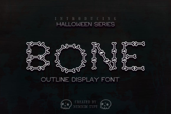 Print on Demand: Bone Display Font By numnim