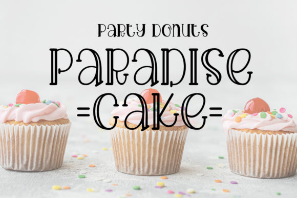 Cake Cream Font Download