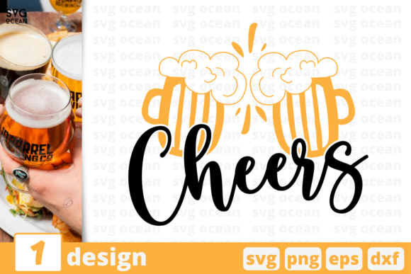 Cheers Graphic Crafts By SvgOcean