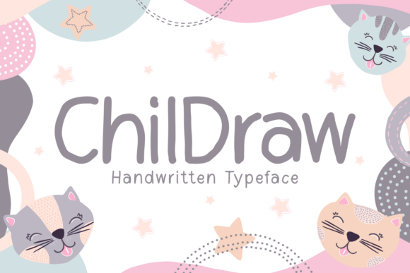 Print on Demand: Childraw Script & Handwritten Font By Kelik - 7NTypes