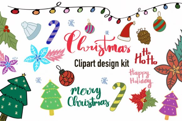 Christmas Clipart - Christmas Items Graphic Illustrations By PoyJazz
