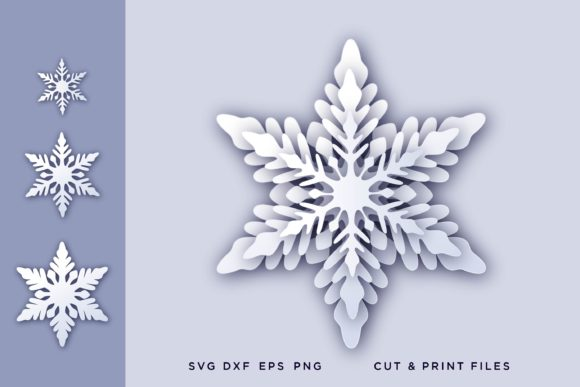 Christmas Snowflake 3d Graphic By 2dooart Creative Fabrica