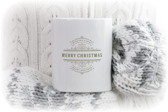 Christmas Saying Design with Ornament Graphic Item