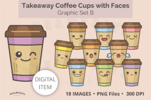 Coffee Cups Smiley Png Clipart Graphic Illustrations By Dreamesaya