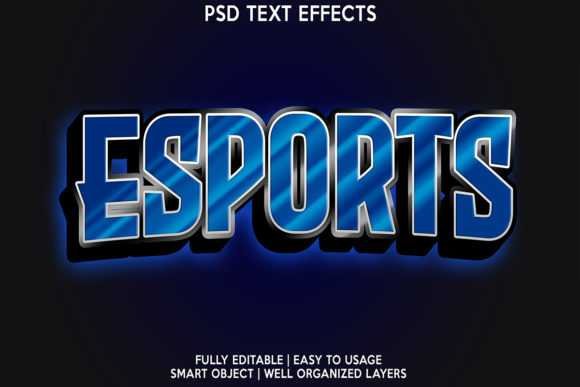Esport Editable Text Effect Graphic Layer Styles By gilangkenter