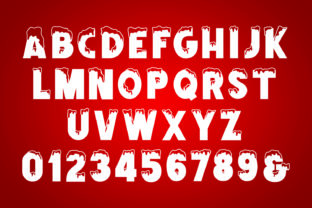 Print on Demand: Frozbite Display Font By Mozatype 7