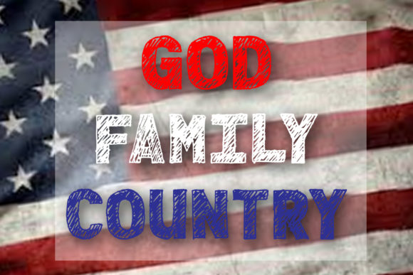 God Family Country Graphic Crafts By AM Digital Designs