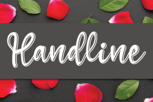 Print on Demand: Handline Script & Handwritten Font By andikastudio