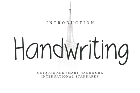 Print on Demand: Handwriting Script & Handwritten Font By andikastudio