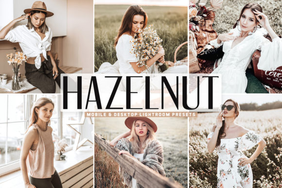 Print on Demand: Hazelnut Lightroom Presets Pack Graphic Actions & Presets By Creative Tacos
