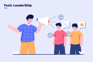 Illustration Toxic Leadership Bad Leader Graphic Illustrations By Delook Creative