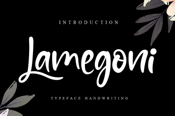 Print on Demand: Lamegoni Script & Handwritten Font By andikastudio