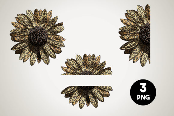 Leopard Sunflower Png Graphic Crafts By Euphoria Design