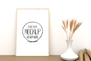 Mockup Poster Product Mockup Frame A4 Graphic Product Mockups By Avadesing
