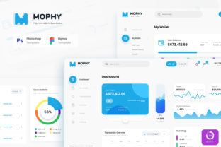 Print on Demand: Mophy - Payment Admin Dashboard UI Graphic UX and UI Kits By peterdraw