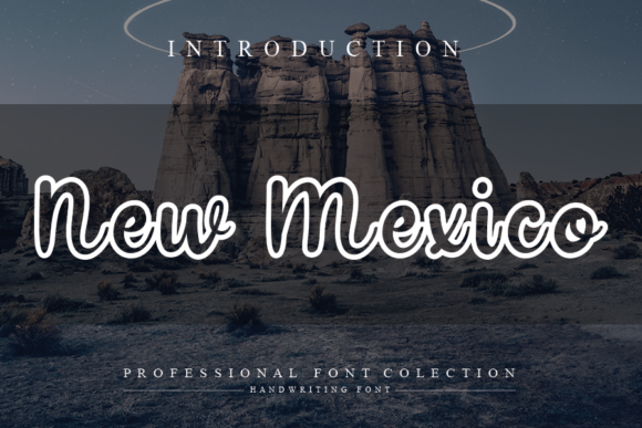 Print on Demand: New Mexico Script & Handwritten Font By andikastudio