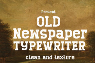 Print on Demand: Old Newspaper Display Font By edwar.sp111