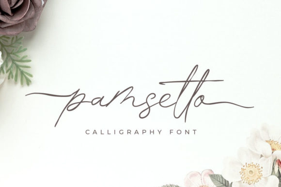 Print on Demand: Pamsetto Script & Handwritten Font By hugefonts